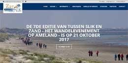 Tussen Slik en Zand 2017: Nieuwe website
