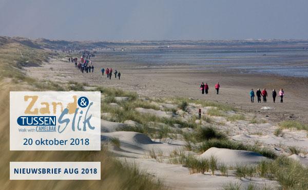 Tussen Slik en Zand 2018: Inschrijven
